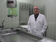 Carlos Cubero, director del Instituto Vasco de Medicina Legal